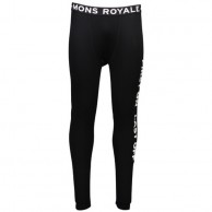 Mons Royale Double Barrel, skiunderbukser, Black