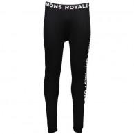 Mons Royale Double Barrel, skiunderbukser, Black