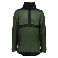 Mons Royale Transition Pullover, skitrøje, Forest Green