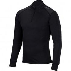 Cairn Comfort Zip 180 M, skiundertrøje, mænd, sort
