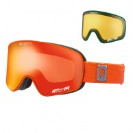Cairn Polaris, Polarized skibriller, mat sort/orange