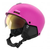 Marker Vijo, skihjelm med visir, Pink