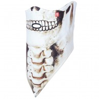 Airhole Facemask 2 Layer, skull