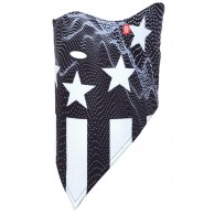 Airhole Facemask 2 Layer, stars & stripes