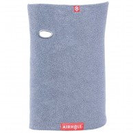 Airhole Halsedisse Microfleece, heather grey