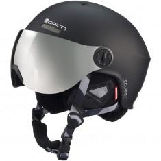 Cairn Eclipse Rescue, skihjelm med Visir, mat sort
