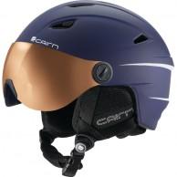 Cairn Electron Photochromic, skihjelm med Visir, mørkeblå