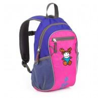 Kilpi First, børnerygsæk, blå/pink