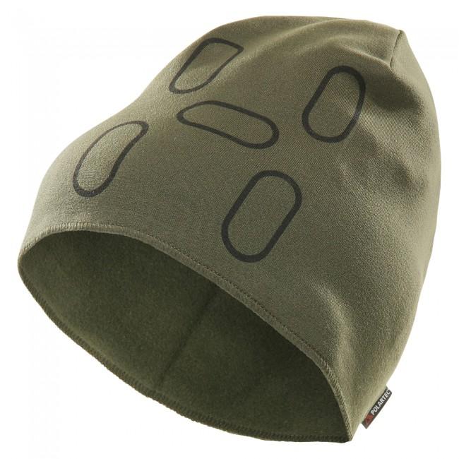 Polartec® Power Stretch® ProTM.Grøn hue i lækkert blødt og varmt stretch materiale - velegnet til aktivt udendørslivPerfekt formet hue til brug under hjelmFylder absolut minimalt, pakket sammenKan foldes op til ønsket højdeStram pasformVægt: 30 gr.