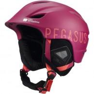 Cairn Pegasus, skihjelm, vinrød