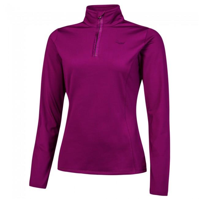 En skipulli til kvinder i lækre materialer med god elasticitet, hvilket giver øget bevægelsesfrihed. Åndbart og svedtransporterende materiale.Kan sagtens bruges som undertrøje direkte på kroppen, men er mest tænkt som en skipulli over en tynd undertrøje inderst, når der er behov for ekstra varme.Damemodel - angivet i damestørrelser.Materialer:92% polyester og 8% elastan power stretch