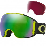 Oakley Airbrake XL, Citrus Black, Prizm Jade Iridium and Prizm Rose