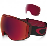 Oakley Airbrake XL, Obsessive Lines Red, Prizm Torch Iridium
