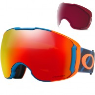 Oakley Airbrake XL, Hazard Bar Blue, Prizm Torch and Prizm Rose