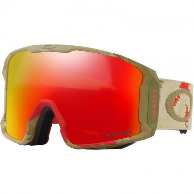 Modsat mange andre store goggles, hvor linsen sidder langt væk fra dit ansigt, har denne banebrydende skigoggle trukket linsen tættere på dit ansigt end på nogen anden skigoggle, hvilket sammen med det store linseareal giver et fantastisk perifært udsyn i alle retninger.Det strømlinede design sikrer dig fuld hjelmkompatibilitet, og gogglen passer over de fleste hverdagsbriller. Linsen er dugforebyggende med dobbeltlinser og god ventilation, og den har Oakleys førende F3 behandling på den inderste linse, som også modvirker dug.Denne skigoggle kommer med en PRIZM Prizm Torch Iridium linse, som er en helt ny linse baseret på årtiers farveforskning. Med PRIZM linsen får du en bedre lystransmission, hvilket giver maksimal kontrastgengivelse, og dermed hjælper dig med at se konturerne i sneen i både solskin og snevejr. Dette giver dig de optimale forudsætninger for at køre godt på ski i det meste vejr.Brillen kommer med en PRIZM Torch Iridium linse, som især er god i solskin og overskyet vej