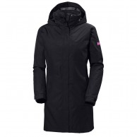 Helly Hansen W Aden Long Insulated, Graphite blue