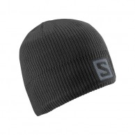 Salomon Logo Beanie, sort