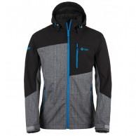 Kilpi Elio, softshell jakke, mænd, grå/sort