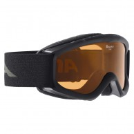 Alpina Carat, juniorskibrille, sort