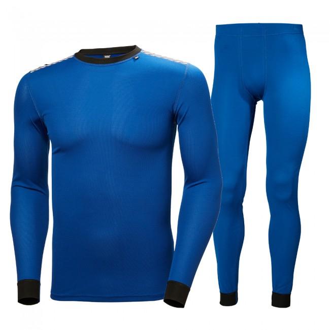 Helly Hansen Comfort Dry skiundertøj, sæt, herre. blå thumbnail