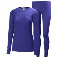 Helly Hansen W Comfort Dry skiundertøj, sæt, dame, lavendel