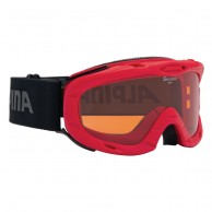 Alpina Ruby S, juniorskibrille, rød
