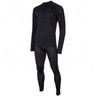 4F Cooldry skiundertøj herre, sæt, sort