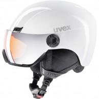 Uvex hlmt 400 skihjelm med visir, hvid