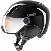 Uvex hlmt 400 skihjelm med visir, sort
