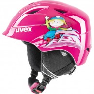Uvex airwing 2 skihjelm, pink
