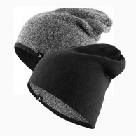 4F/Outhorn 2-sidet beanie, sort