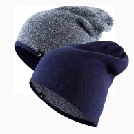 4F/Outhorn 2-sidet beanie, navy