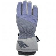 4F NeoDry skihandsker, dame, violet