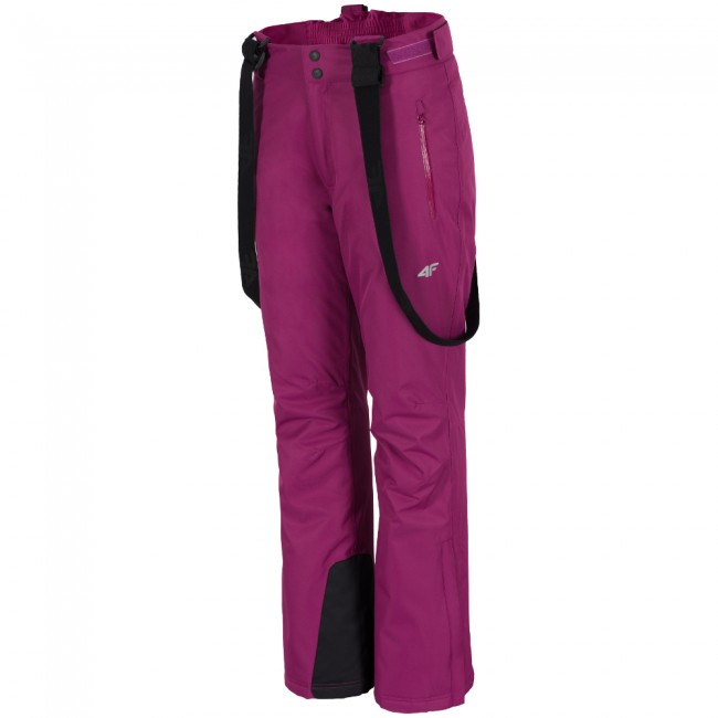 4F Lora skibukser, dame, violet thumbnail