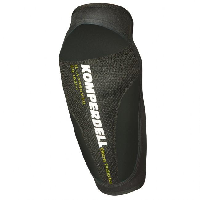 Komperdell Elbow Protector er en ganske simpel albuebeskytter, som kan bruges til alt på eller af bjerget både sommer og vinter. Den er let, og sidder meget komfortabelt.