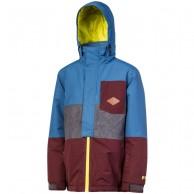 Protest Elvon JR, Skijakke til drenge, blå/rød