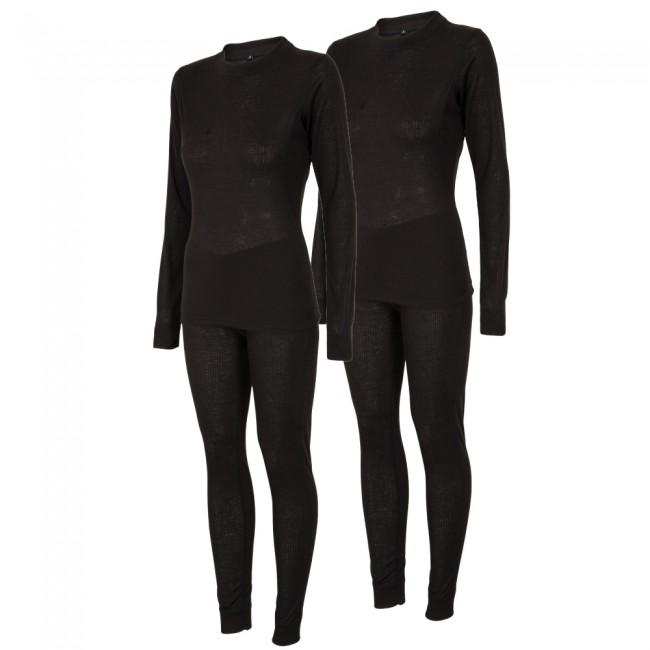 4F/Outhorn 2 sæt skiundertøj til damer, sort thumbnail
