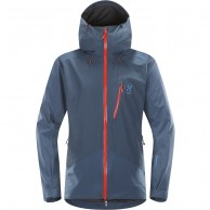 Haglöfs Niva Jacket, herre skijakke, blå