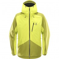 Haglöfs Niva Jacket, herre skijakke, gul