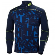 Helly Hansen Lifa Active Graphite 1/2 Zip, herre, blå
