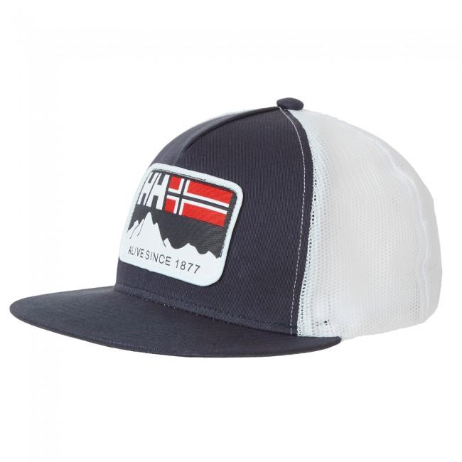Billede af Helly Hansen Flatbrim Trucker cap, blå