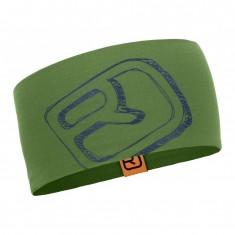 Ortovox Merino Cool Logo pandebånd, grøn