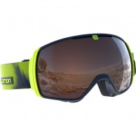 Salomon XT One goggles, lime