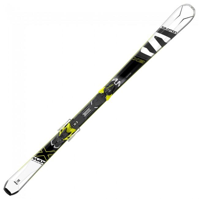 X-Max X8 er en ski for dig som kan lide at køre pister i et sportsligt tempo. Skien er bygget op omkring en trækerne med titaniumforstærkning, hvilket giver optimal stabilitet og et kraftfuldt rebound. Den er udstyret med ABS sidewall, som giver bedre kontakt mellem ski og sne. Med dens Carve Rocker konstruktion bliver det nemmere at indlede svinget og det forbedrer skiens hurtighed fra kant til kant.Stivheden er skræddersyet til at skien er let manøvrerbar, samtidig med at den har tilpas meget stabilitet ved fart, til at også øvede skiløbere kan få lov at presse skien.Specifikationer:PisteskiCamber Rocker konstruktionTrækerneBasalt PowerframeOversize Active Contact SidewallsSidecut: 120/73/102 (længde 169cm)Radius: 15.5m (længde 169cm)Binding: XT10 (C90)Inkl. binding og montering af denne.OBS Levering:- Skiene sendes med GLS, hvilket tager 1-3 hverdage. Vær opmærksom på, at