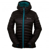 Montane Featherlite Down Jacket, dame, sort