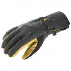 Salomon Propeller Dry skihandske, sort/gul