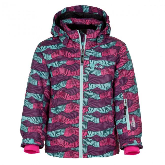 Kilpi Genovesa JG, skijakke, børn, grøn print