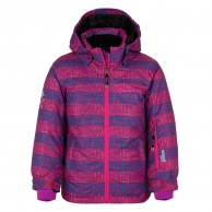 Kilpi Genovesa JG, skijakke, børn, violet print