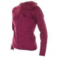 Cairn Roselend W, fleece jakke, dame, vinrød