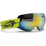 Demon Gravity skibriller, gul